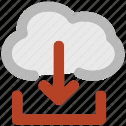 cloud computing, cloud download, cloud informations, cloud internet, cloud technology, downloading, wireless internet icon