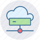 cloud, cloud computing, connection, disk, hdd, network icon