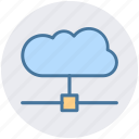 cloud connection, cloud internet, cloud network, cloud system, wireless network icon