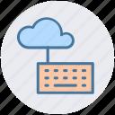 cloud computing, cloud data, cloud keyboard, cloud monitoring4, data center, keyboard