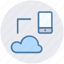 cloud, cloud computing, icloud, mobile, sharing, storage icon