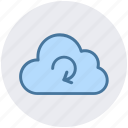 cloud network, cloud refresh sign, cloud reload, cloud storage cycle, sync concept icon
