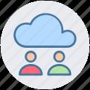 cloud computing, cloud internet connectivity, cloud internet usage, cloud internet users, cloud network icon