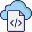 div file, cloud coding, html file, cloud programming