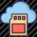 sd memory card, cloud storage, memory card, sd card