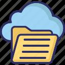 folder, remove folder, remove informations, remove sign icon