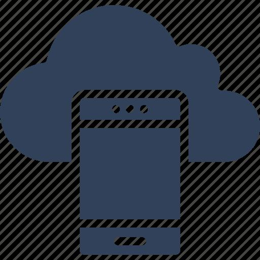 cloud network, mobile cloud, wireless communication, wireless network icon