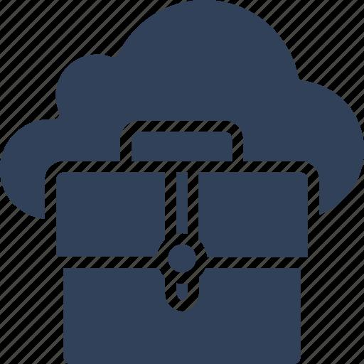 cloud computing, cloud portfolio, icloud, portfolio icon