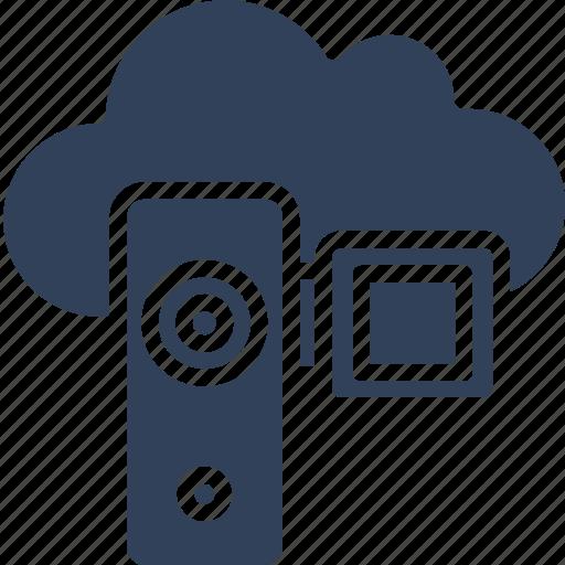 camcorder, camera, video camera, video recording icon