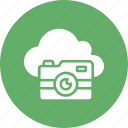 cloud camera, cloud image, cloud photo, cloud picture icon