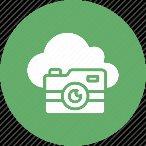 cloud camera, cloud image, cloud photo, cloud picture icon