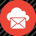 +, box, email inbox, mailbox, postbox icon