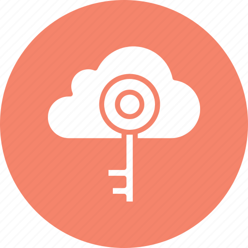 cloud computing, cloud identity, cloud security, network security icon
