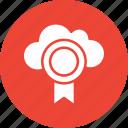 cloud medal, cloud prize, medal, position medal icon