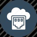 broadband, network port, network socket, tcp icon