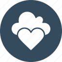 online dating, online love, cloud computing, heart