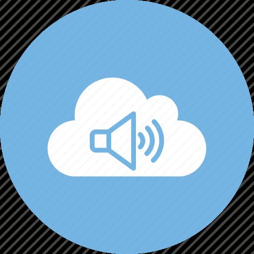 loudspeaker, speaker, voice, volume icon