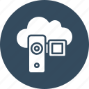 camcorder, camera, video camera, video recording icon
