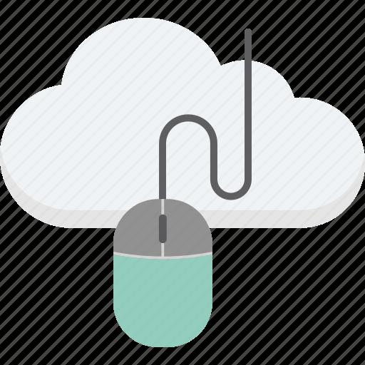 cloud computing, cloud mouse, computer mouse, input device, mouse icon