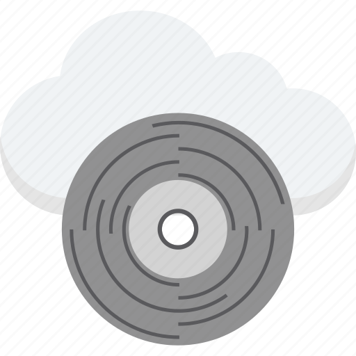 cd, cloud cd, compact disk, disk, dvd icon