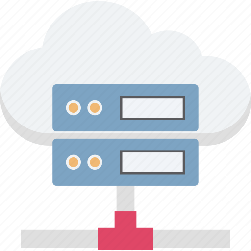 computer network, data access, information access, server rack, shared server icon
