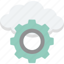 cloud network, network setting, server preferences, server setting, server tools icon