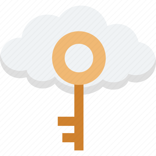 cloud computing, cloud identity, cloud network, cloud security, network security icon