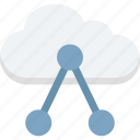 cloud share, cloud sharing, connection, network, share icon