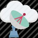 dish antenna, radar, satellite dish, space, wireless icon
