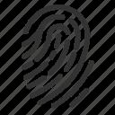 cloud, computing, fingerprint, serverless