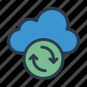 backup, cloud, database, server, storage