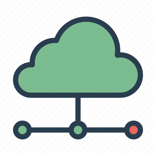 cloud, connect, network, server, storage icon