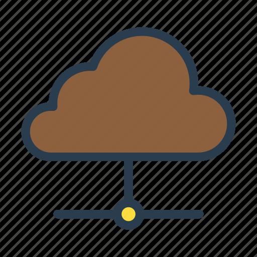 cloudsharing, database, datacenter, server, storage icon