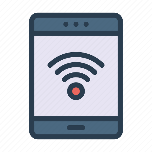 device, mobile, phone, signal, wireless icon