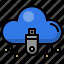 usb, drive, cloud, computing, data, storage, electronics