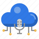 microphone, podcast, cloud, computing, communications, electronics