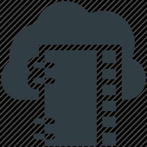 cloud computing, digital storage, online docs, online notes, sky docs icon
