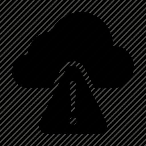 alert, cloud, error, notice, warning icon