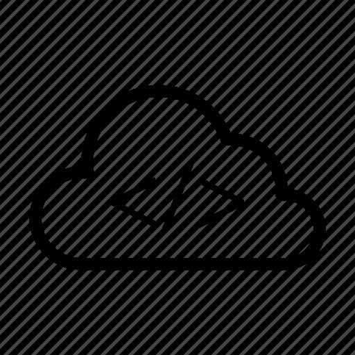 coding, database, programming, scripting, server icon