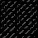 data, centre, databases, rack, racks icon