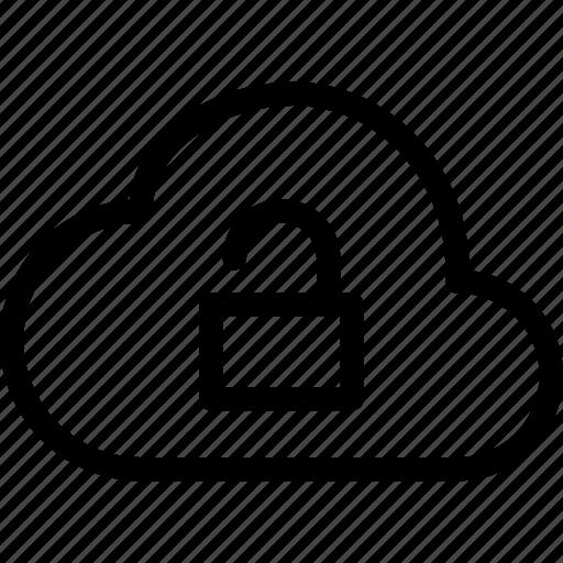 cloud, unlock icon