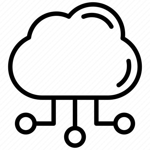 cloud, cloud computing, network, share icon icon