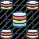 access, cylinder, database, management, panel, server, software