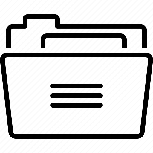 binder, binders, directory, dossier, folder, portfolio, repository icon
