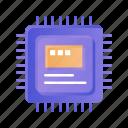 computer, cpu, hardware, storage icon