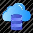 cloud, computing, dollar, money icon