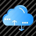 cloud, computing, data, link