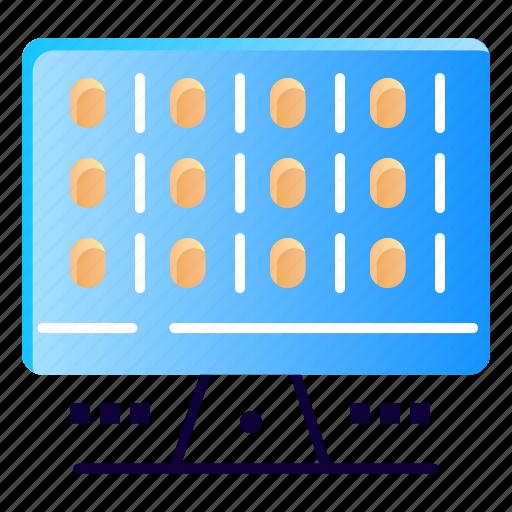 computer, computing, server, web icon