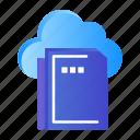 cloud, computing, data, file