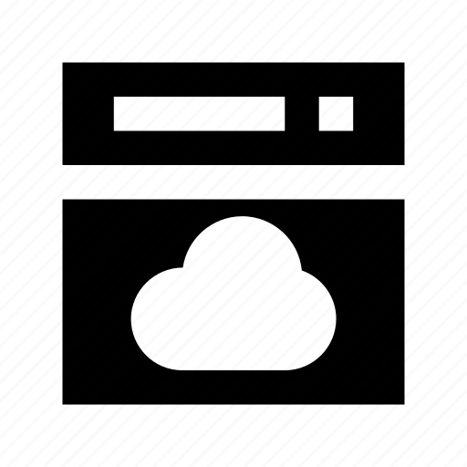 cloud app, cloud browser, cloud computing, cloud drive, cloud service icon